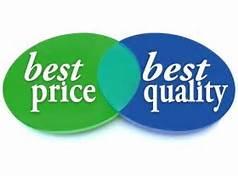 antara harga dan kualitas